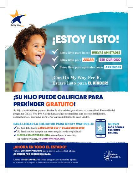On My Way Pre-K (espanol)