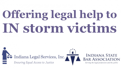 Offering legal help to IN storm victims